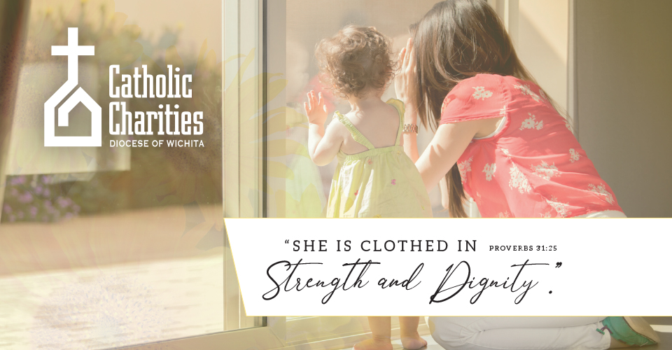 Catholic Charities Assists Mothers on a Daily Basis