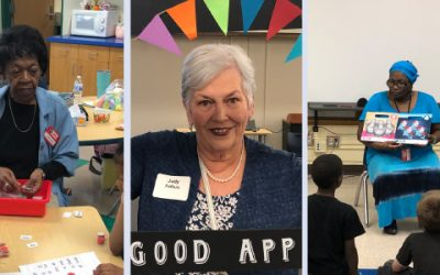 Foster Grandparents Receive Good Apple Awards