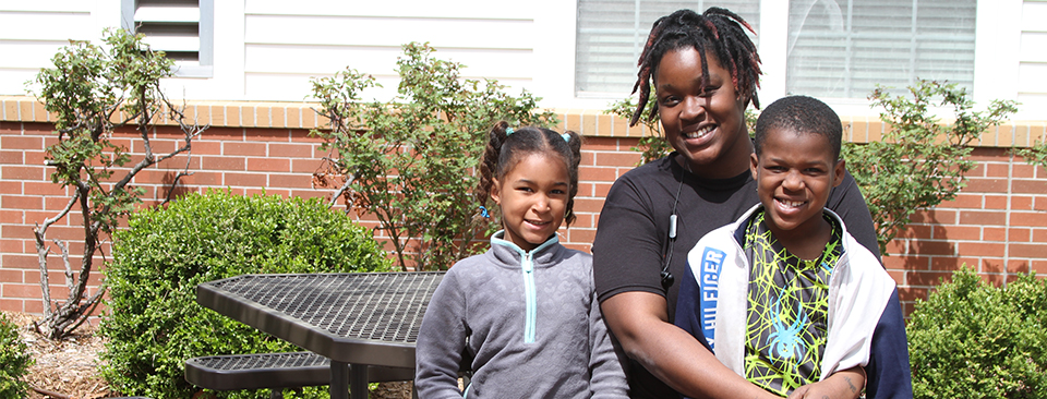 Single mother finds fresh start at St. Anthony