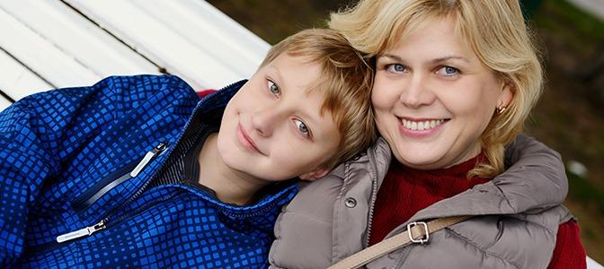 Mother, son rebuild bond, lives in shelter