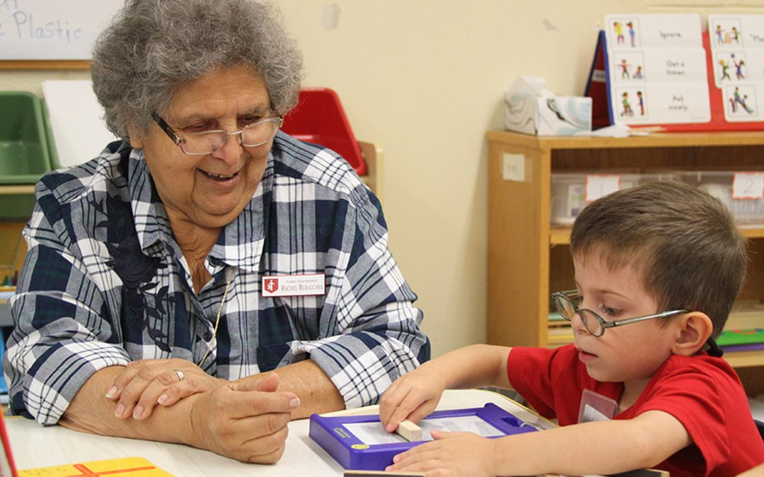 Foster Grandparents returning to the classrooms this fall